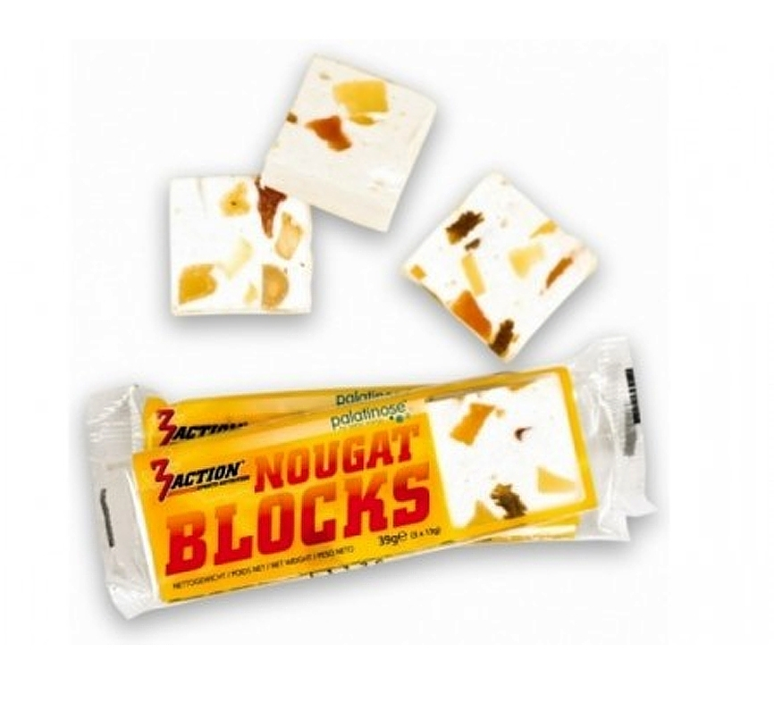 3 Action Nougat Blocks 39gr