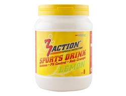 3 Action Sports Drink 500gr - Lemon