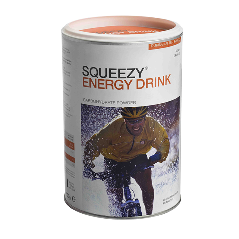 Squeezy Energy Drink Orange 500gr.